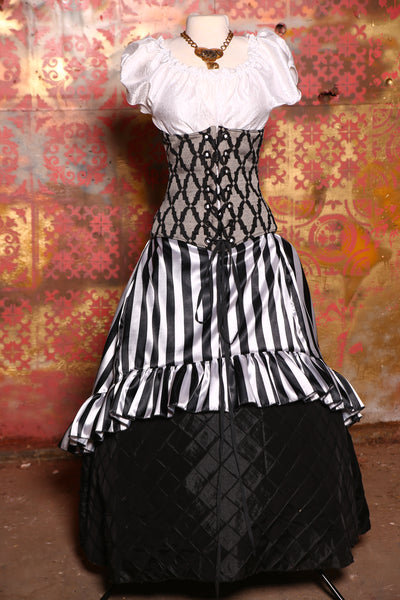 Wench Corset in Gothic Cathedral