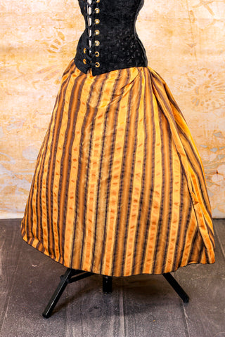 Butterscotch Stripe Swagger Skirt