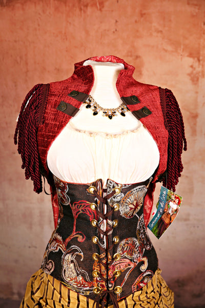 Wench Corset in Secret Combinations Floral