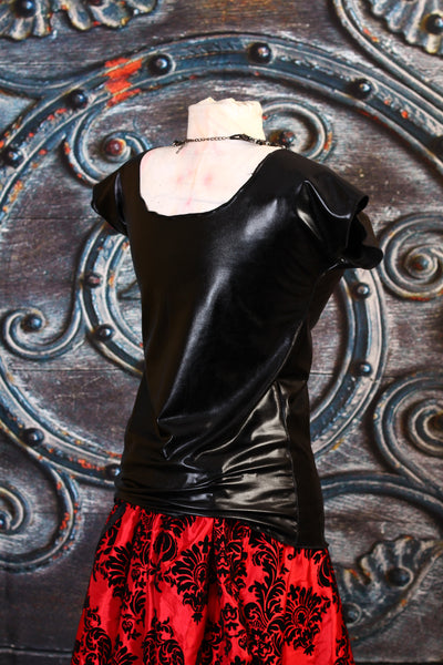 Black Widow Blouse - RA1