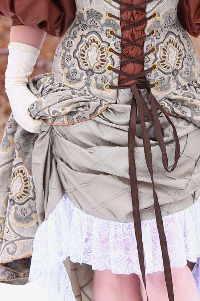 Swoon Skirt in Bindweed