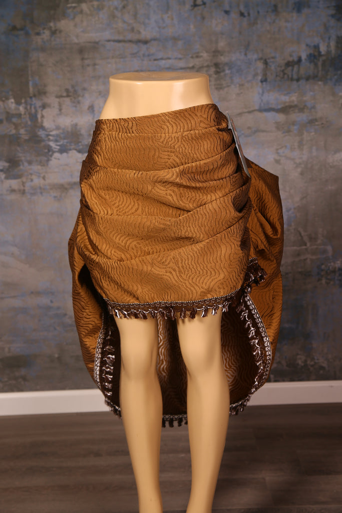 Mini Swoon Skirt in Gold Dunes
