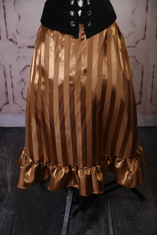 Gold Stripe Carousel Skirt with free Skirt Hikes