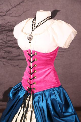 Wench Corset in Wild Style Pink