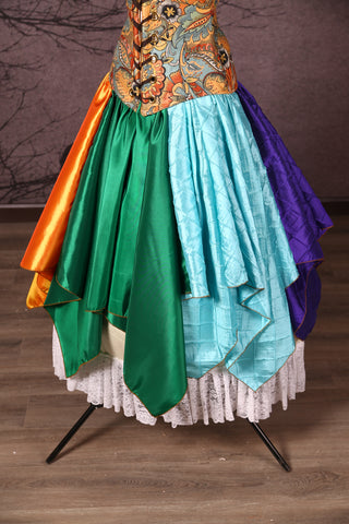Fairy Skirt in Rainbow Bright
