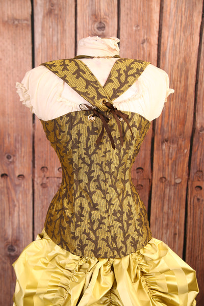 Woodsy Twig Faire Maiden Corset - RD1