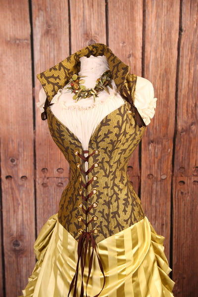 Woodsy Twig Courtier Corset