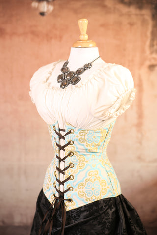 Celtic Ocean Wench Corset