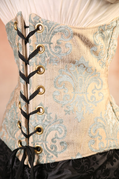 Ice Princess Medallion Wench Corset