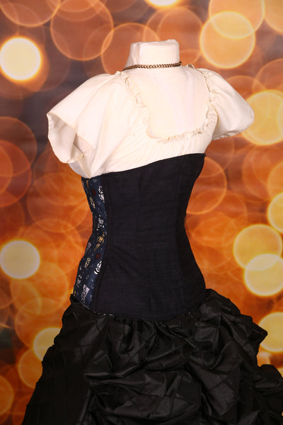 Wench Corset in Star Wars and Solid Black