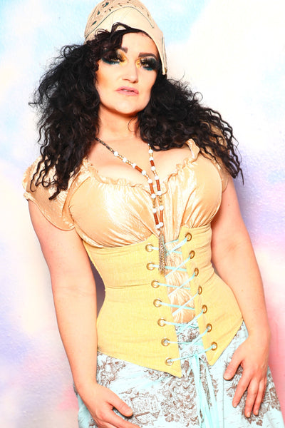Wench Corset in Daffodil