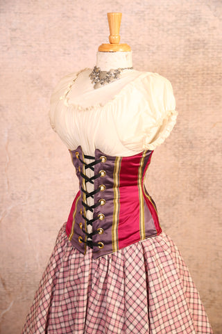 Candy Stripe Wench Corset - RG2