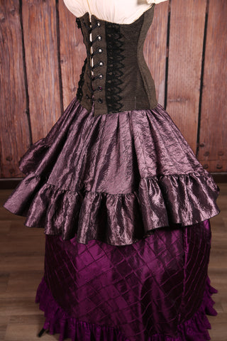 Salsa Skirt in Dusk Crushed Taffeta