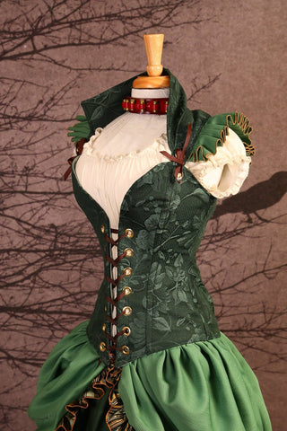 Merida-Ruffled Courtier Corset - NF/P