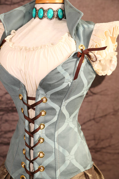 Alice or Belle-Ruffled Courtier Corset - RH1