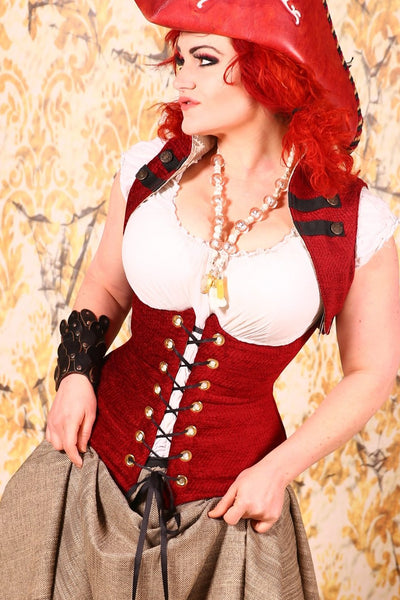 Torian Corset Blood Red - RB3
