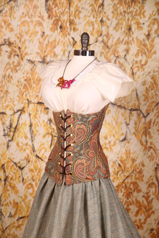 Wench Corset in A Million Dreams Paisley