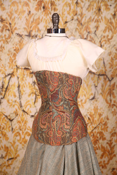Torian Corset A Million Dreams Paisley - RA1