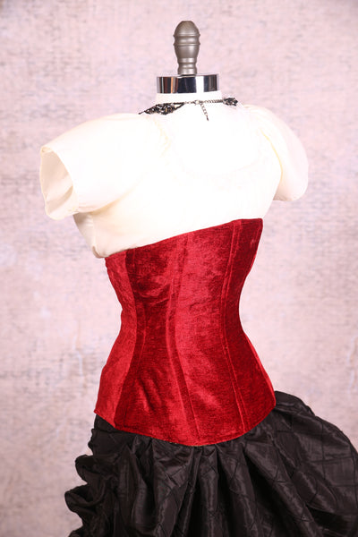 Wench Corset Blood Red