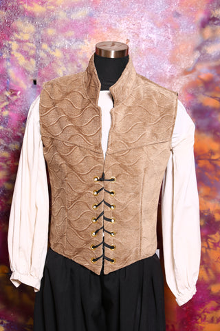 Men's Flynn Vest in Sand Dune