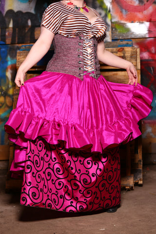 Salsa Skirt in Fuchsia