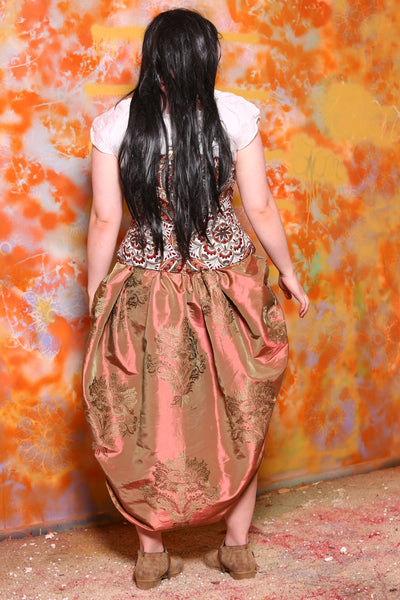 Mini Swoon Skirt in Special Sauce Filigree