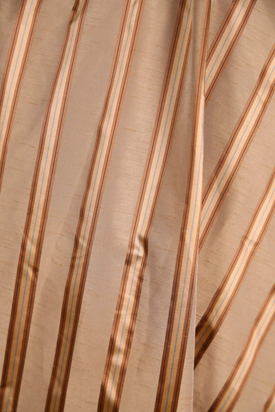 Crescent Skirt Shades of Gold Stripe