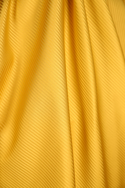 Crescent Skirt Yellow Stripe
