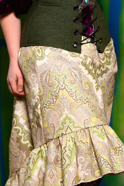 Stagecoach Skirt in Good Luck Paisley