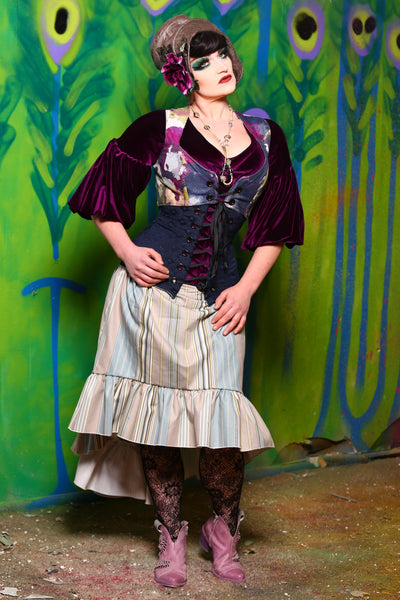 Stagecoach Skirt in Skypirate