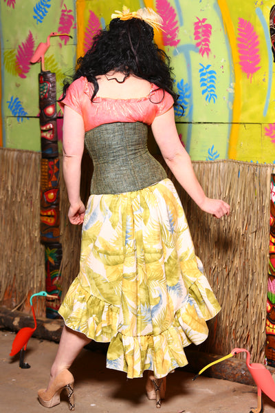 Stagecoach Skirt in Tiki Room