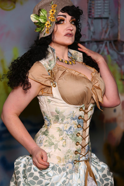 Vixen Corset in Little House on the Prairie Floral