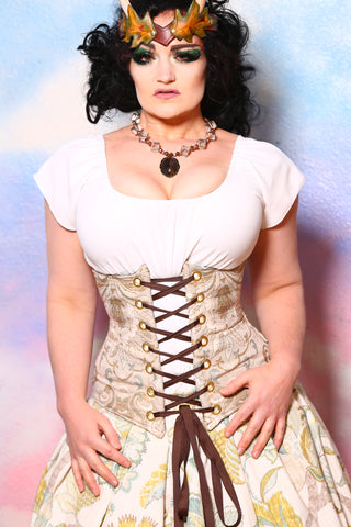 Wench Corset in Windsong