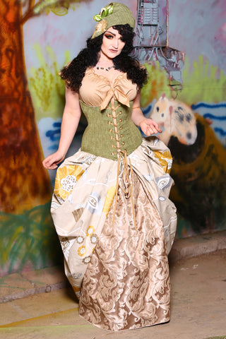 Wench Corset in Pears Well