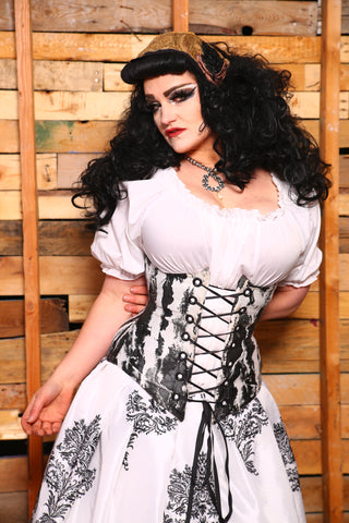 wench corset in queenly red  damsel in this dress corsets