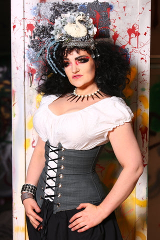 Wench Corset in Vintage Levi's