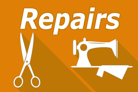 Repairs - For items that you send in to be fixed