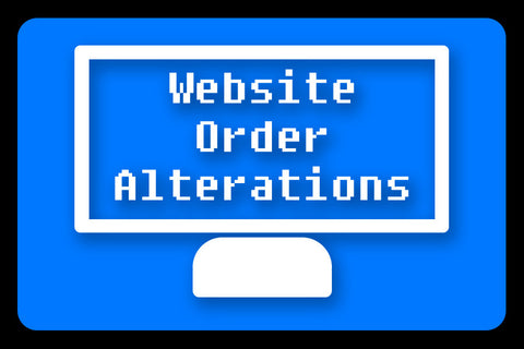 Website Order Alterations - for Pirate Coats, Peplum Corsets and Tailed pieces
