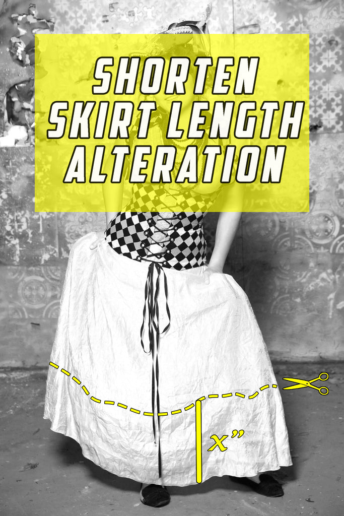 Shorten Length Alteration - For items to be altered BEFORE they ship to you!