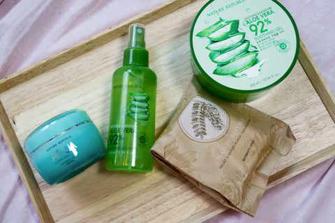 Let's fight the heat with Nature Republic!