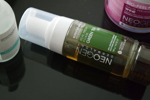 Neogen Green Tea Real Fresh Foam Cleanser: review