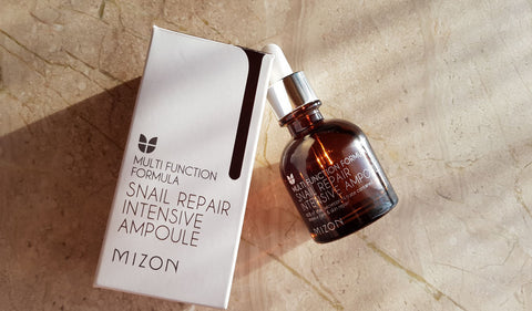 Review] Mizon - Snail Repair Intensive Ampoule | Glamour Flare