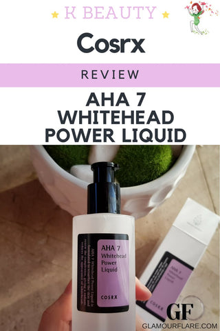 Review - Cosrx AHA 7 Whitehead Power Liquid