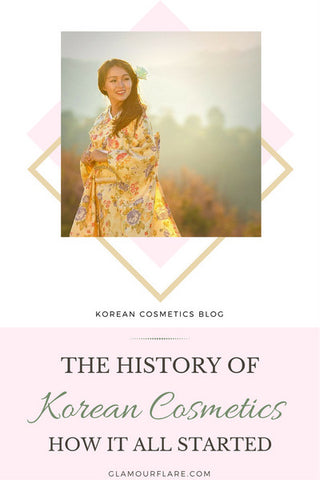 The History of Korean Cosmetics