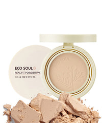 The Saem Eco Soul Real Fit Powder Pact (SPF35/PA++) 12g