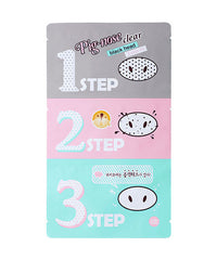 Holika Holika Pig Nose Clear Black Head 3 Step Kit 3pcs