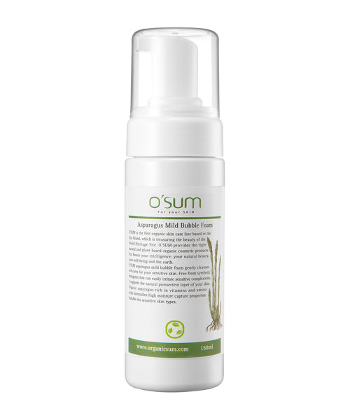 O'SUM Asparagus Bubble Foam 150ml