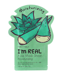 Tony Moly I'm REAL Aloe Mask Sheet Moisturising - 5 pcs