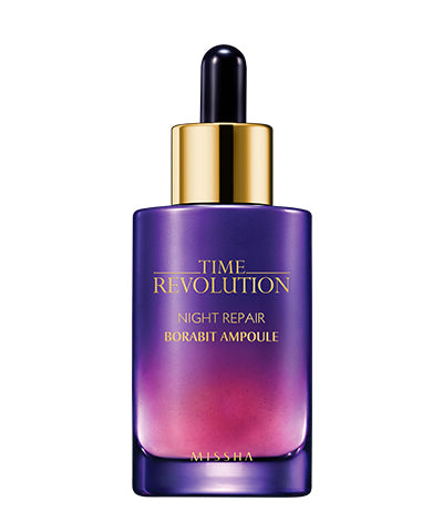 Missha Time Revolution Night Repair Borabit Ampoule [3rd Generation]  – 50 ml