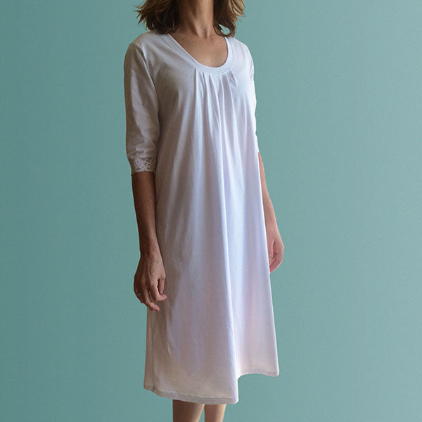Corsica Winter Organic Cotton Nightdress